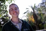 Courtney Eparvier, Curator of Primates and Sea Lions at Audubon Zoo.