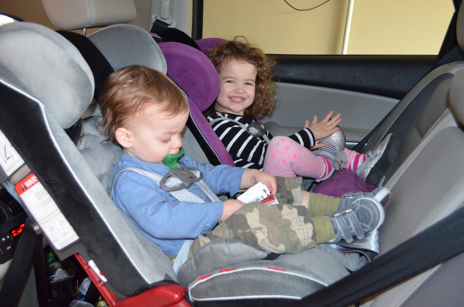 Older Child In Rear Facing Car Seat