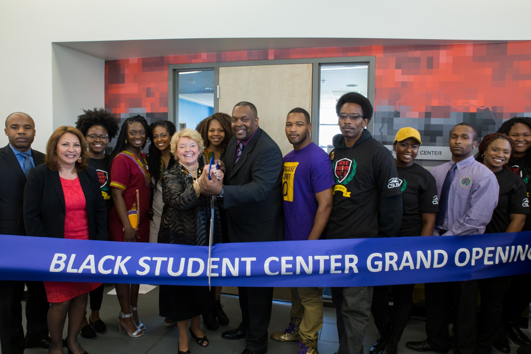 Black Student Center Ribbon Cutting Feb. 23, 2017