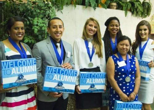 awarded graduates