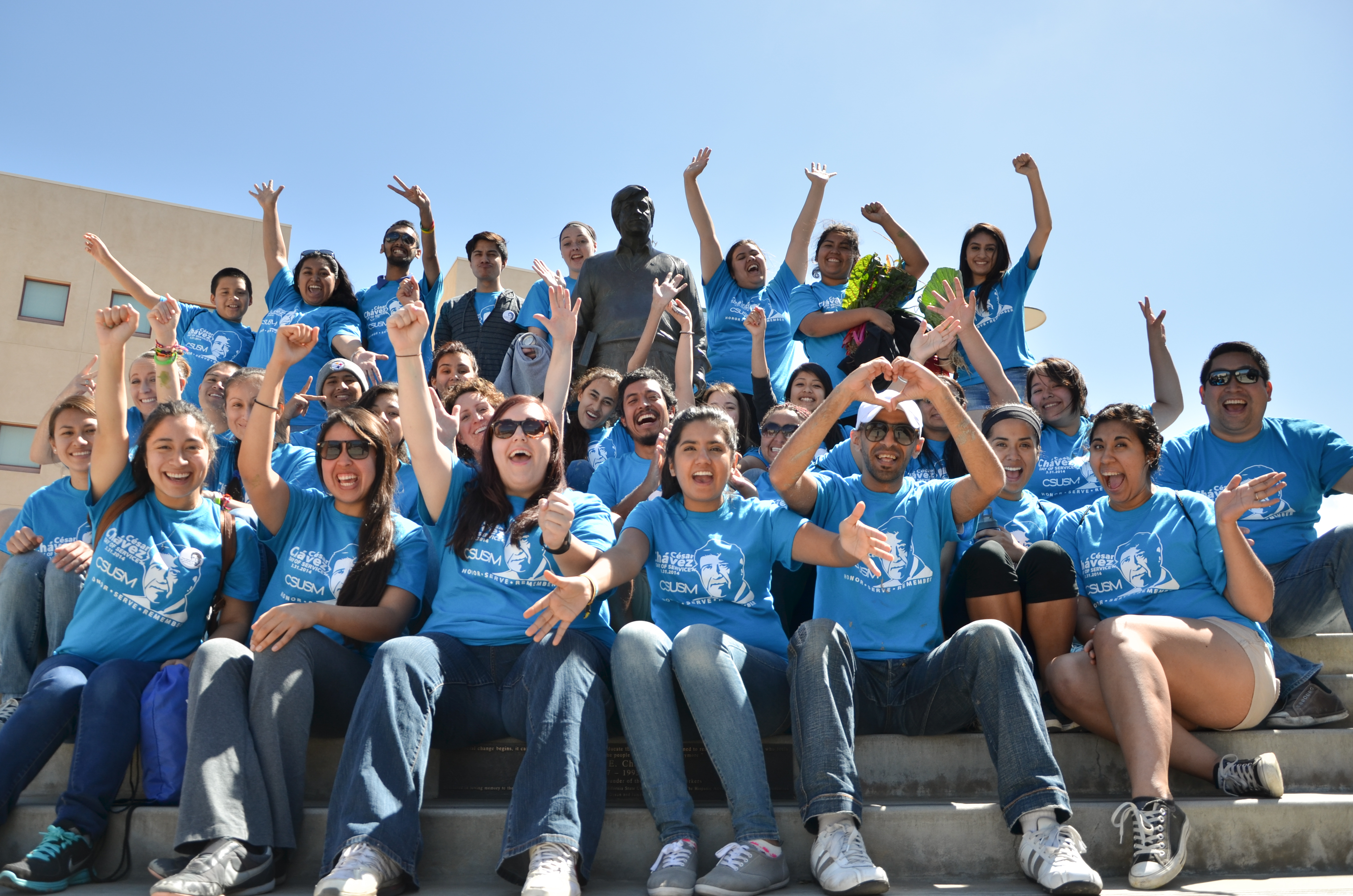 Cesar Chavez Day of Service 2014