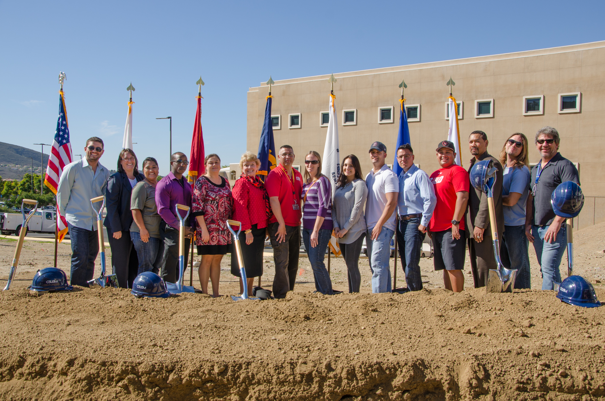 Veterans Center Groundbreaking Ceremony