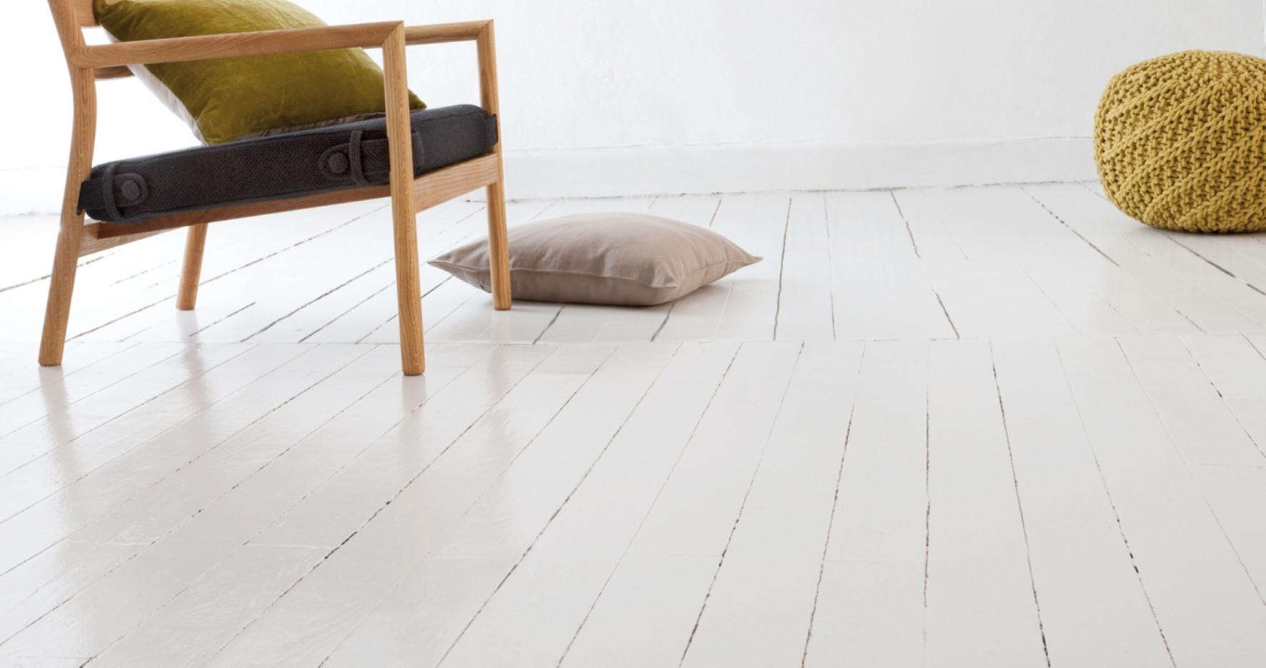 Vloer wit verven good witte houten vloeren met een toefje zwart