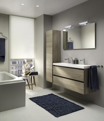 Desco lanceert lijn badkamermeubels op maat van kleine ruimtes for Badkamers desco