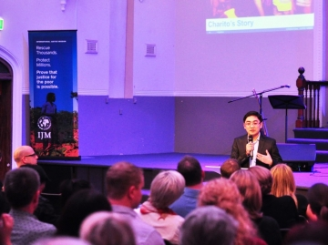 IJM Australia Launch Event (May 2014)