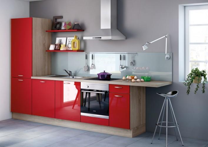 Kies voor de zuivere lijnen van een greeploze keuken - Keuken uitgerust voor klein gebied ...