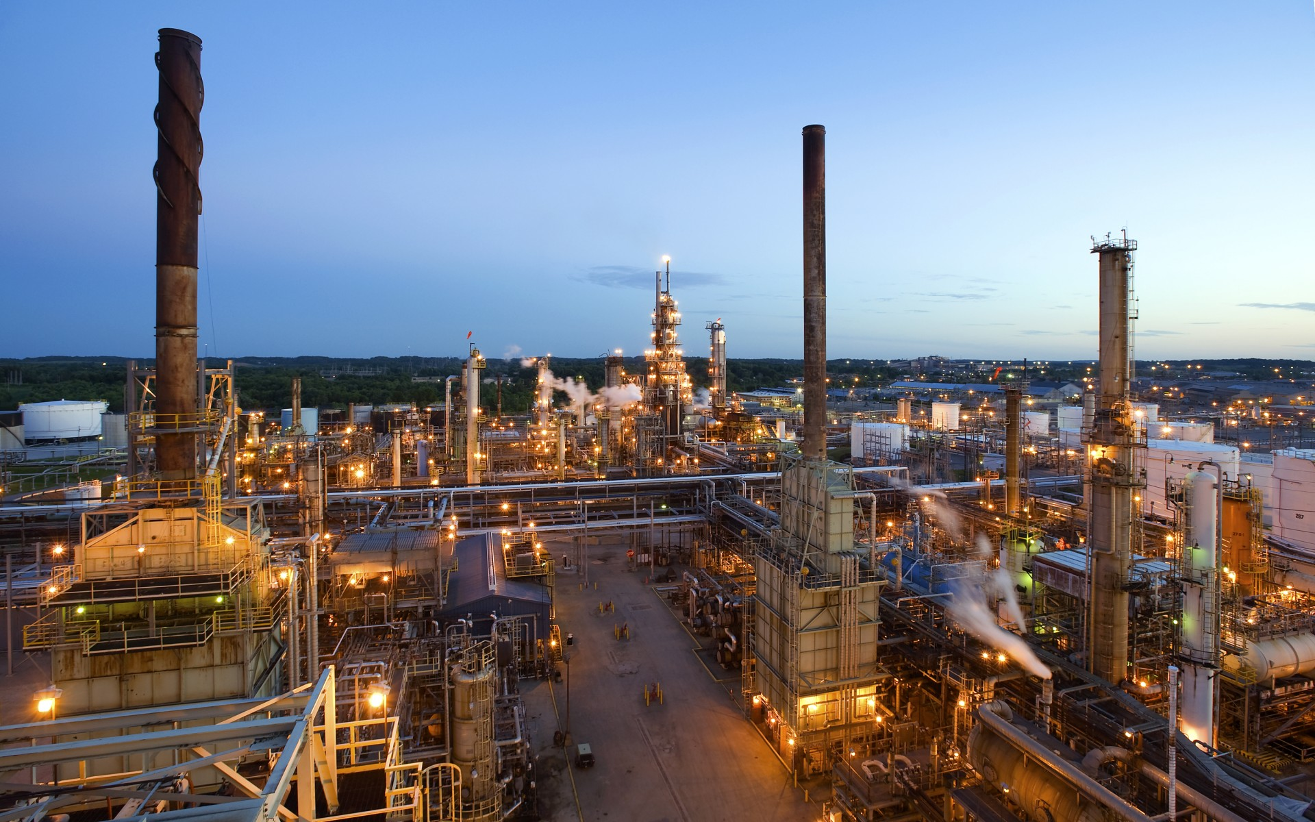 The Canton refinery is one of MPC's seven refineries.