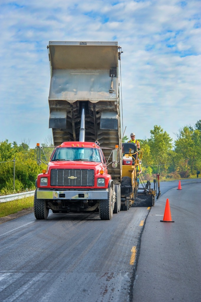 Increased asphalt sales
