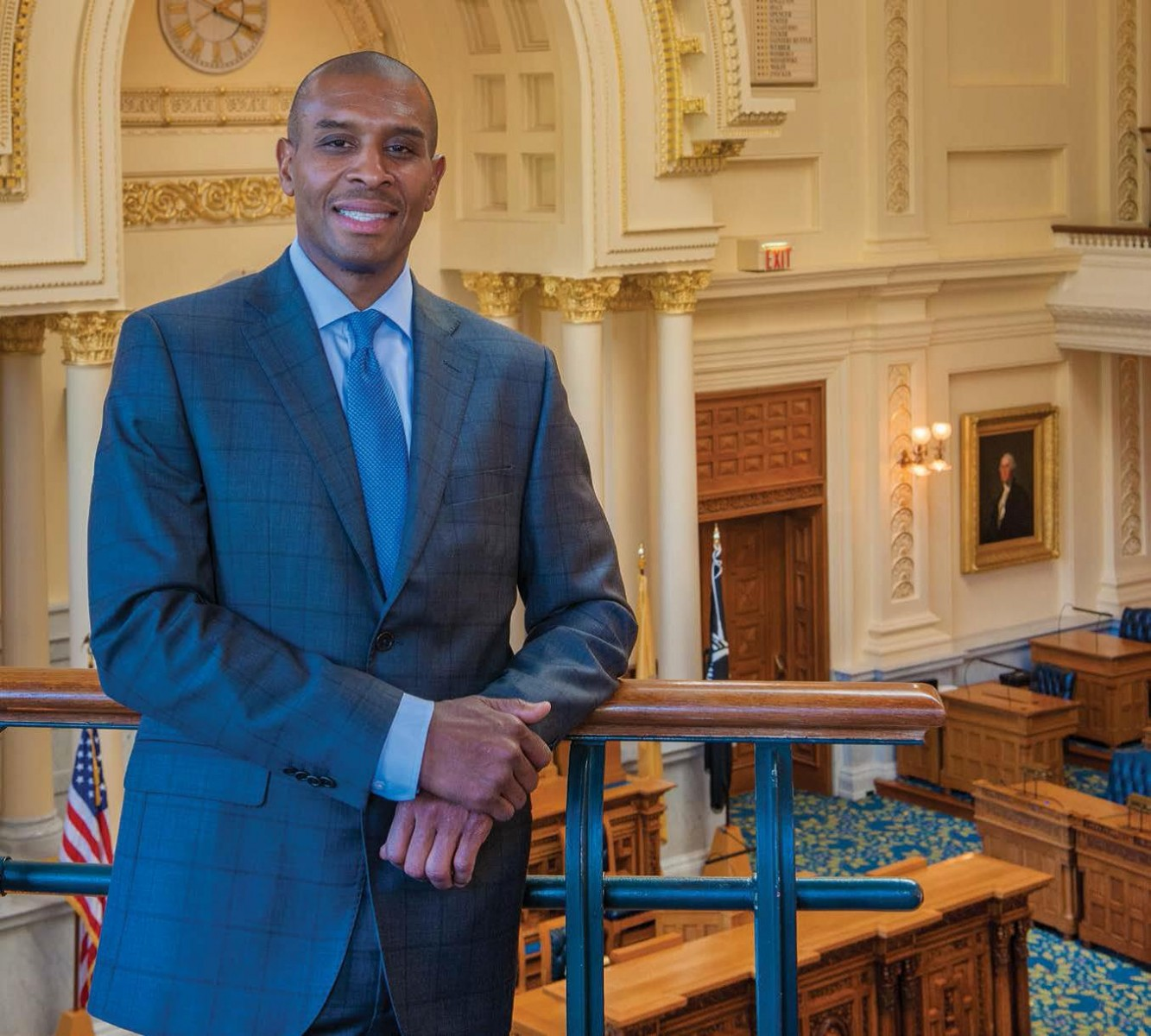 John Evans is one of MPC's Government Affairs managers. Pictured here in the New Jersey Statehouse, John works with lawmakers, regulators and others in six states in the Northeast.