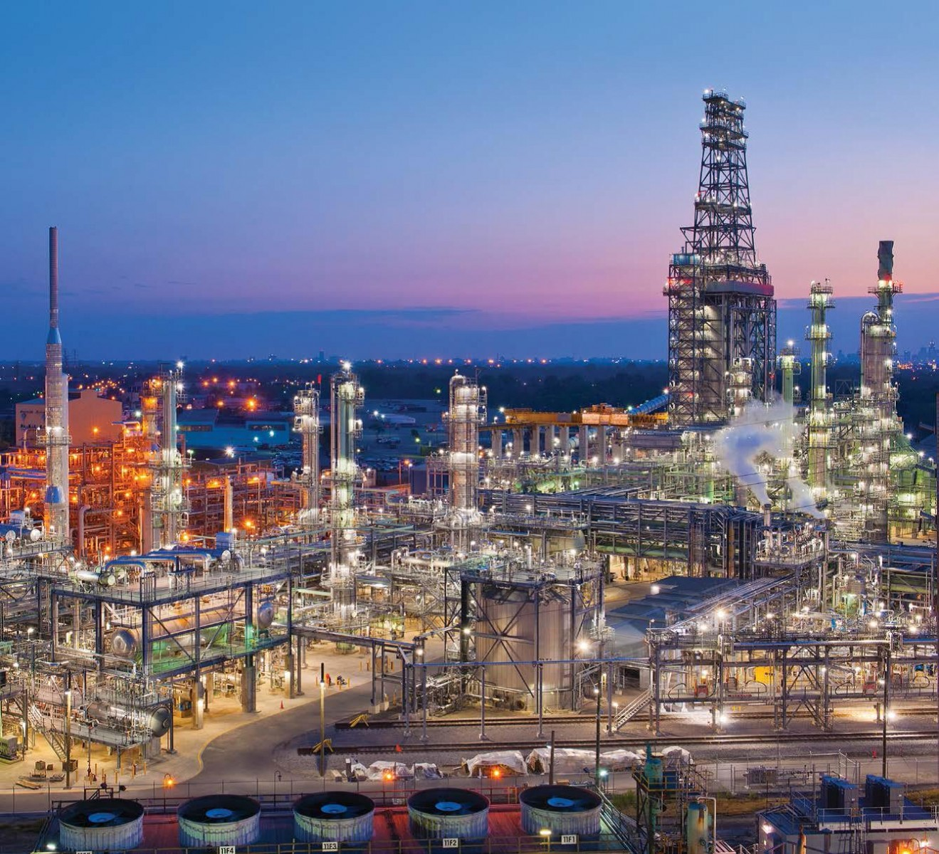 MPC's refinery in Detroit, Michigan, is implementing several pollution-control measures.