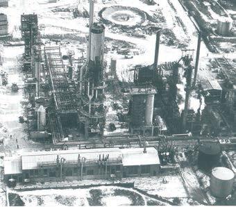 The Canton refinery began operations in 1931.
