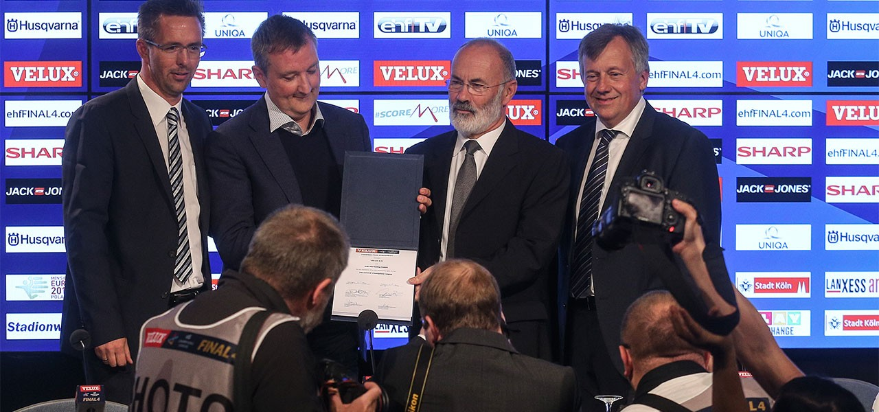 EHF Signed Contract 2015 by EHF and VELUX Group