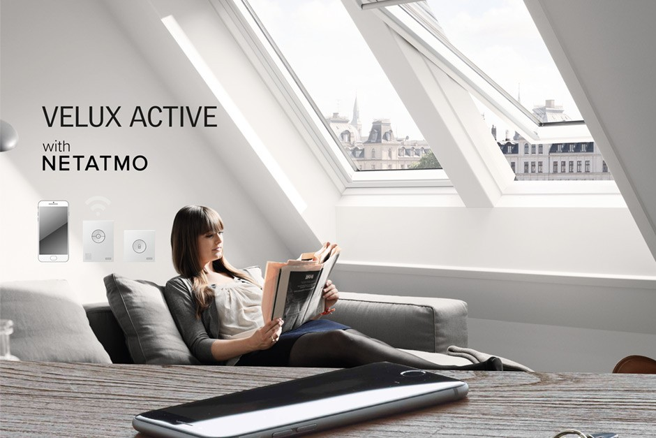 velux partners with netatmo on smart home innovation. Black Bedroom Furniture Sets. Home Design Ideas