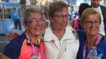 Family4family rent Singelloop voor Loes