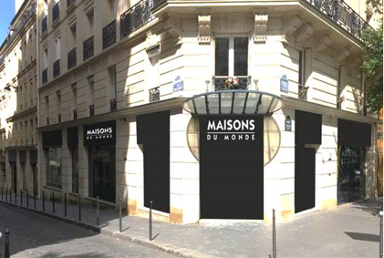 cbre installe maisons du monde avenue wagram. Black Bedroom Furniture Sets. Home Design Ideas