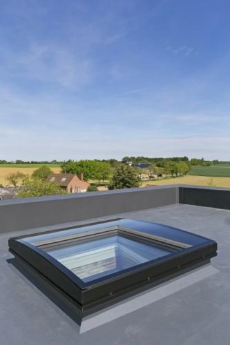 transformatie hellend tot plat dak voor meer ruimte en licht. Black Bedroom Furniture Sets. Home Design Ideas