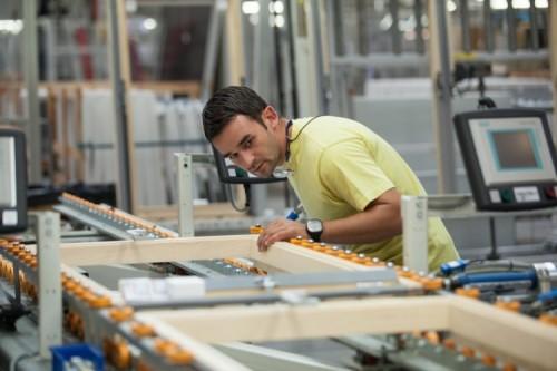 Proces produkcji w fabryce VELUX w Gnieźnie