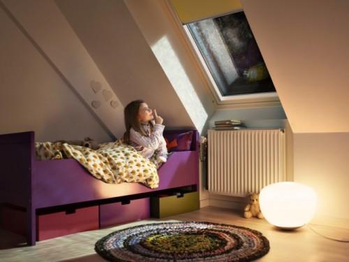 Okna dachowe VELUX z pakietem wyciczania deszczu