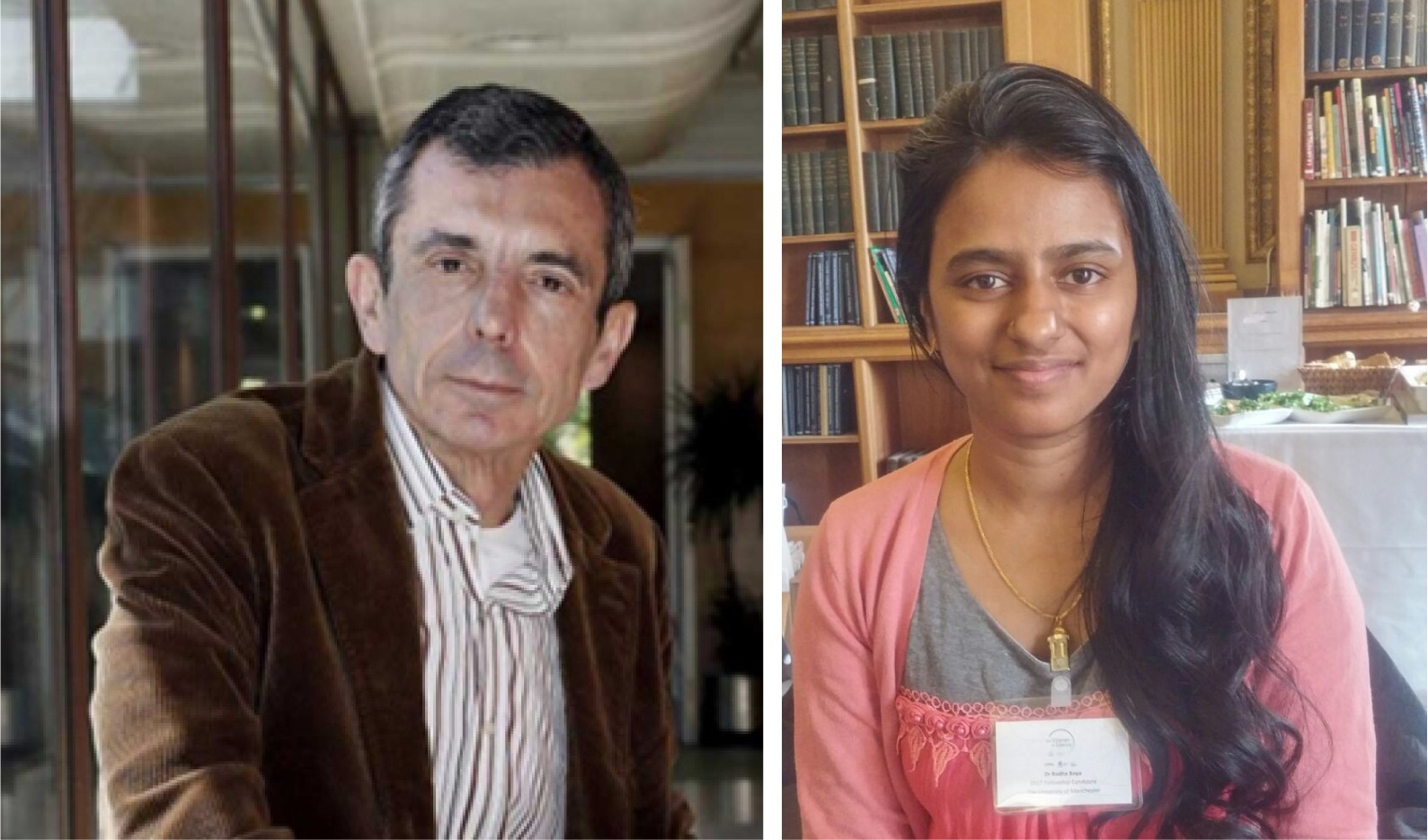 Prof Guinea and Dr Boya
