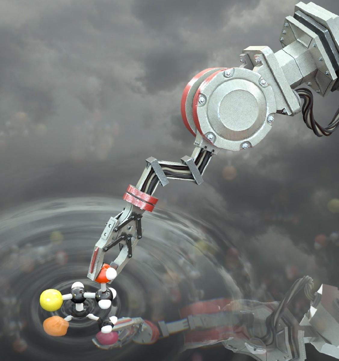 1920 molecularrobot resize2 - 【ナノテクノロジー】世界初、分子を組み立てられる「分子ロボット」開発に成功/英マンチェスター大学
