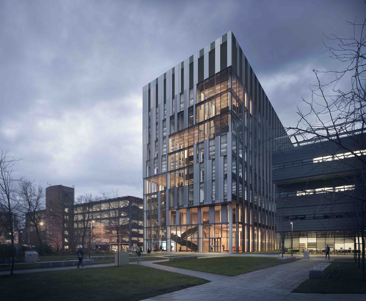 University Of Manchester Engineering Building