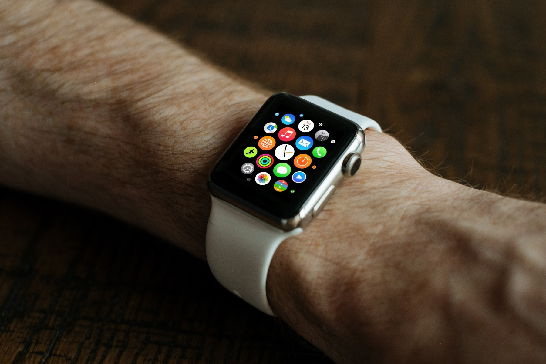 Apple's smartwatch - Lithium ion batteries are also used in wearable tech
