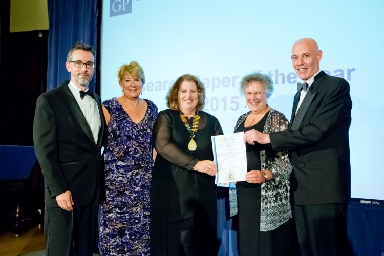 rcgp research paper of the year award Researchers from the university of warwick have won a prestigious award for their work on diabetes the paper, entitled influence of primary care practices on patients uptake of diabetic.