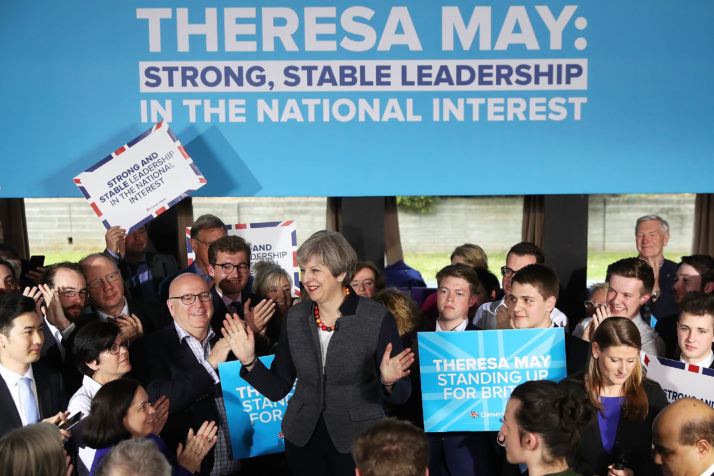 theresamay rally