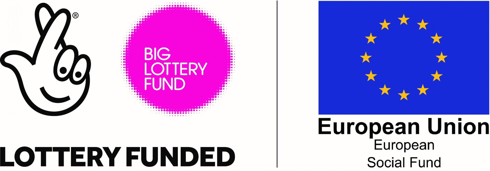 Big lottery ESF logo