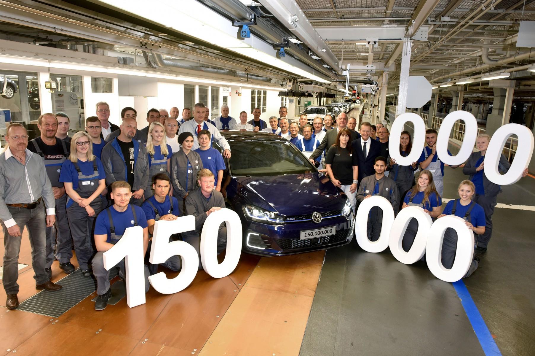 150 miljoenste auto