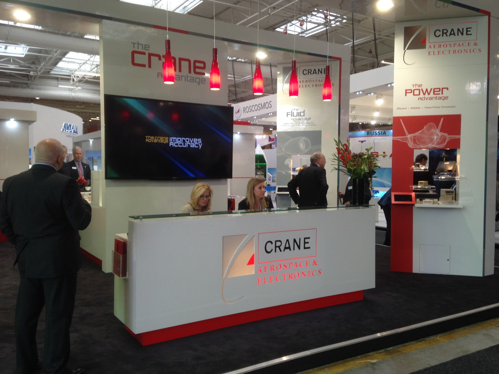 Paris Air Show Booth 2015