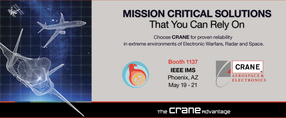 Join Crane at IEEE IMS