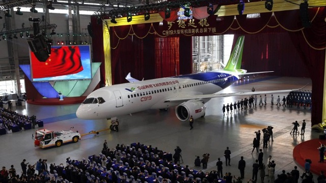 COMAC C919 Rollout Ceremony (Photo credit: COMAC)