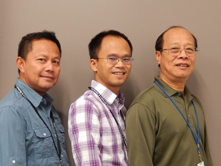 Redmond Inventors Sovann Song, Khoa Nguyen, and Cuon Lam Celebrate Patent Award