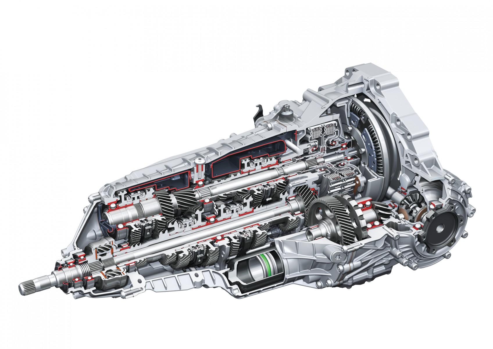 S tronic dual clutch transmission