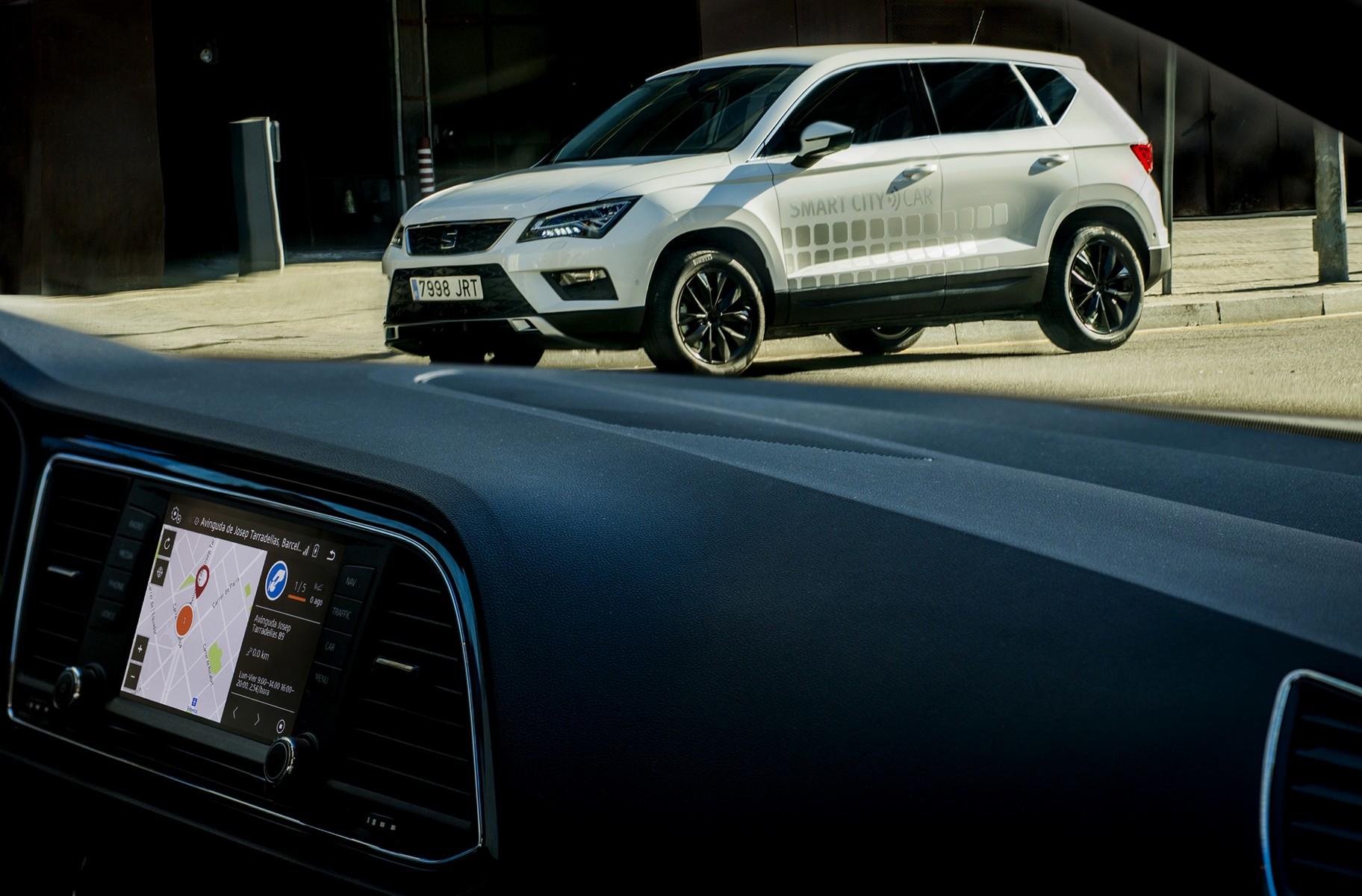 Ateca Smart City Car