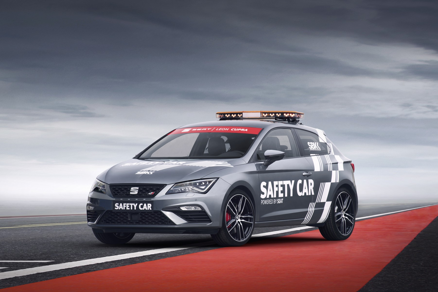SEAT Leon Cupra 300 official safety car WK Superbike