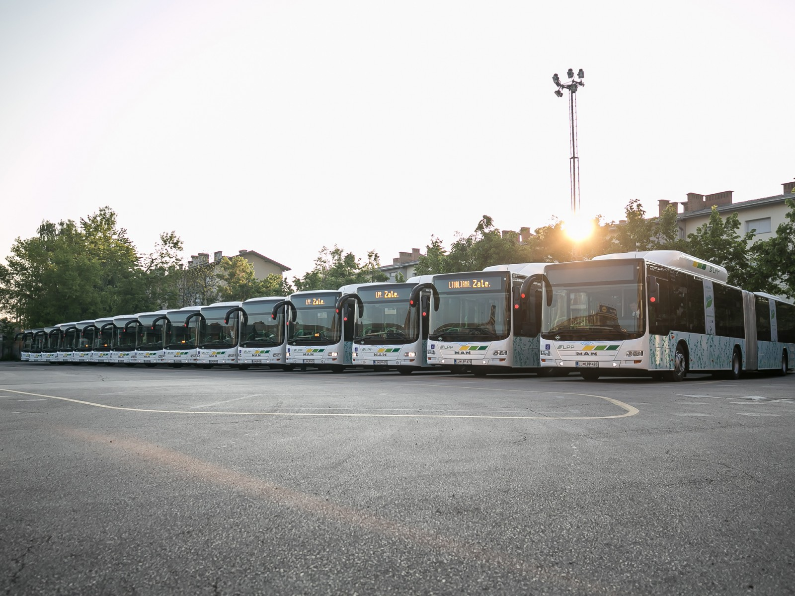 30 MAN's Lion City CNG voor Ljubljana