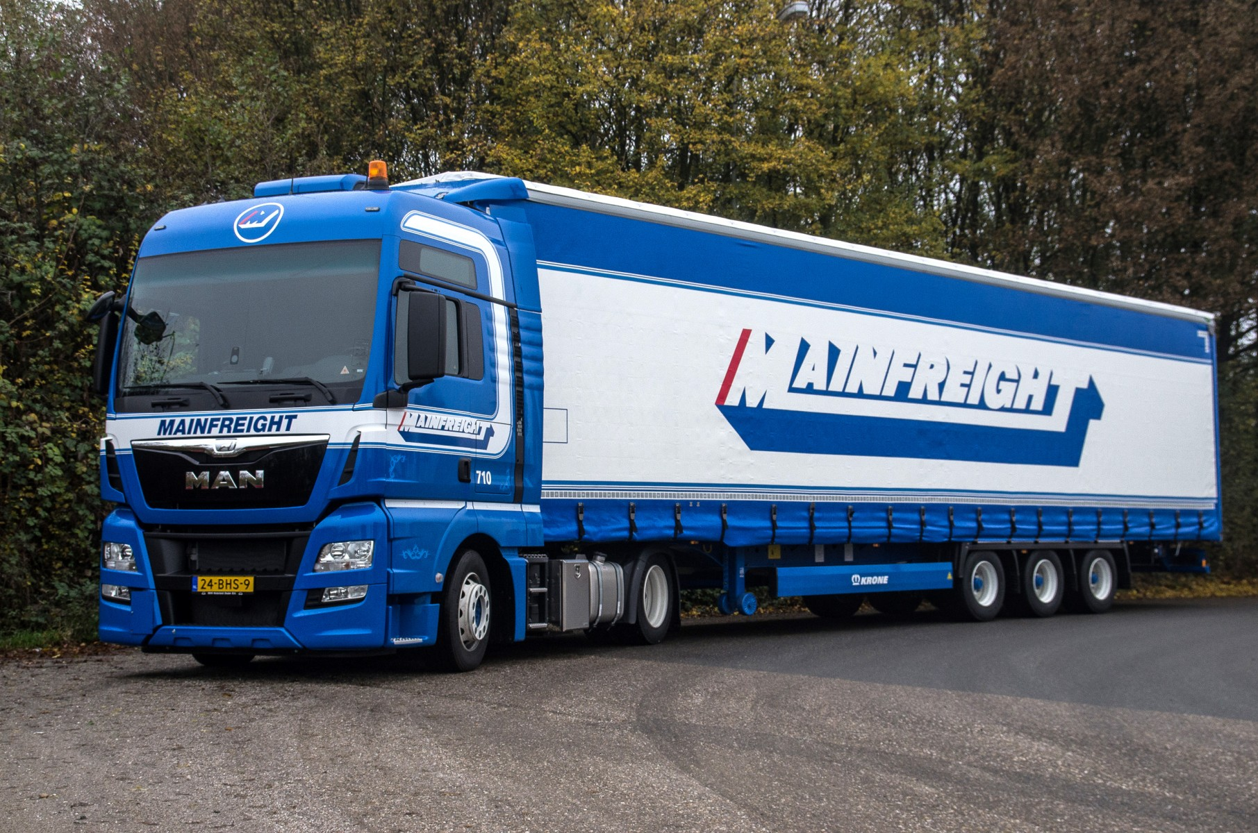 MAN voor Mainfreight