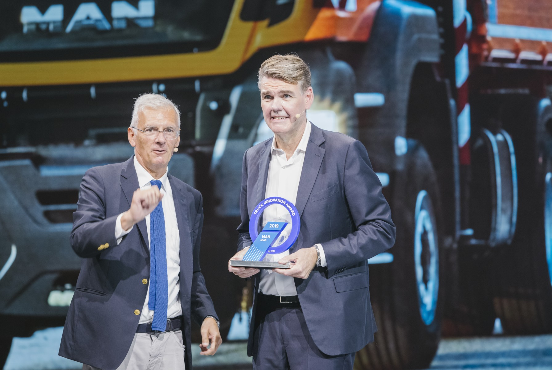 Truck Innovation Award voor MAN aFAS