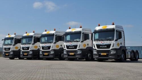 Vijftien nieuwe MAN-trucks voor Post-Kogeko