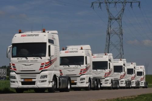 Zes MAN TGX trucks voor MBH Transport