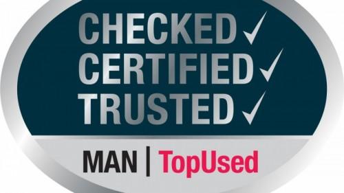MAN TopUsed label: gebruikte trucks en bussen met beproefde en geteste kwaliteit