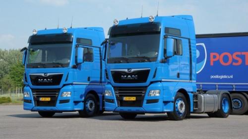 Post Logistics kiest MAN-trucks