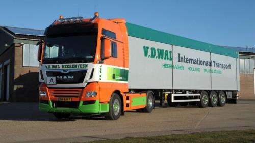 MAN trucks voor Van der Wal Heerenveen