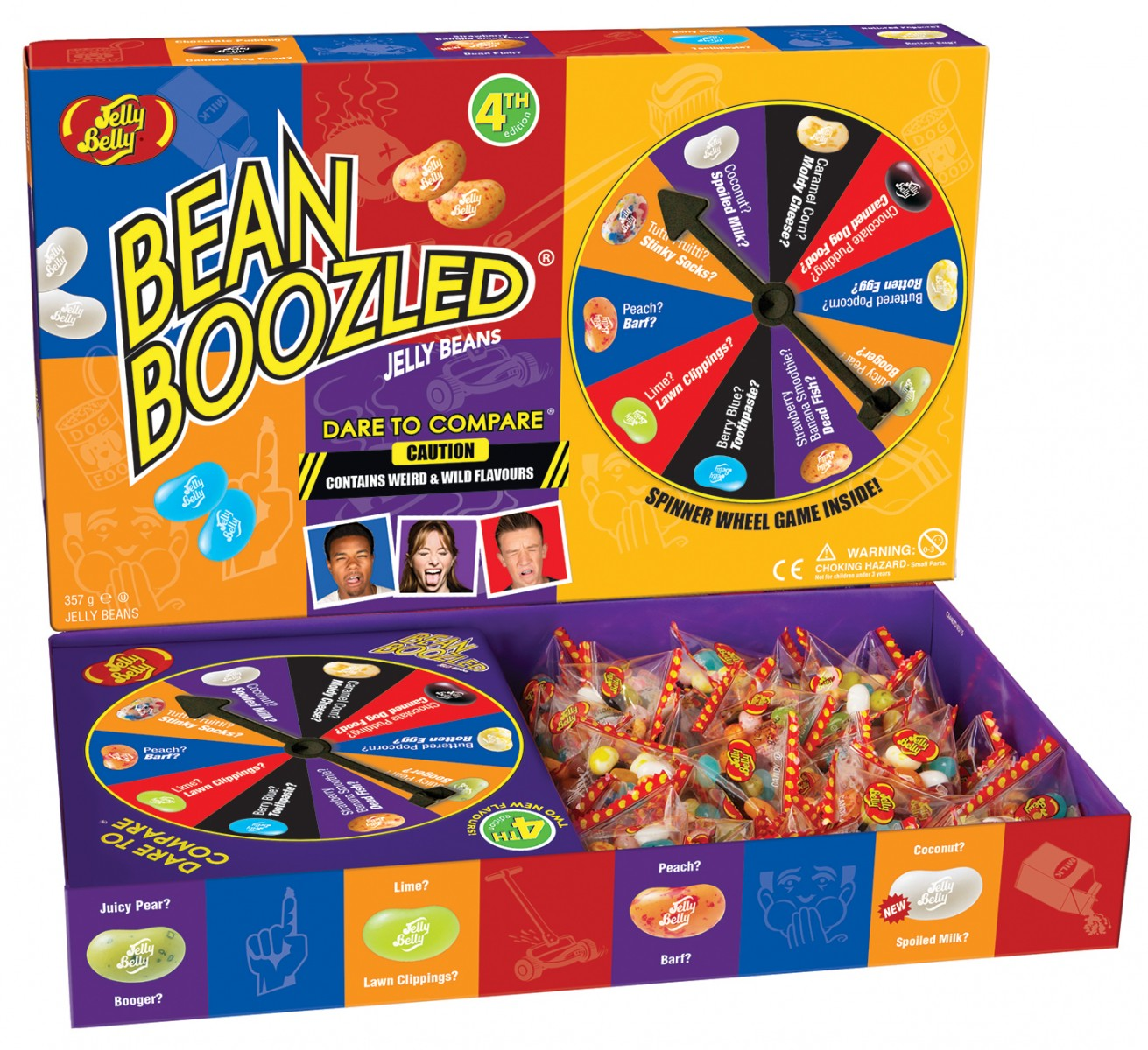 Candy Bean Buzld: what tastes, what is the list of tastes in Russian