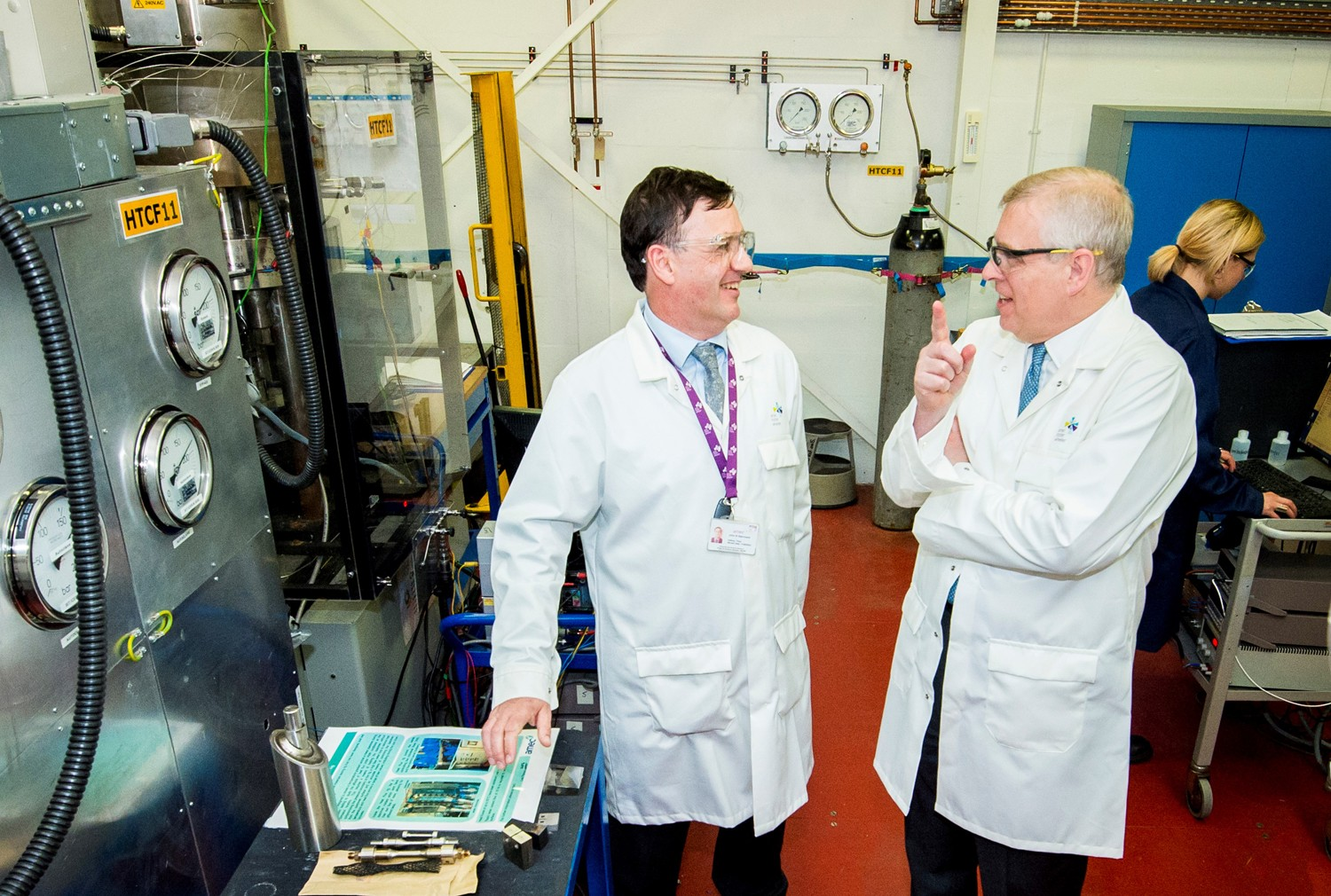 HRH Duke of York visits Amec Foster Wheeler's UK labs