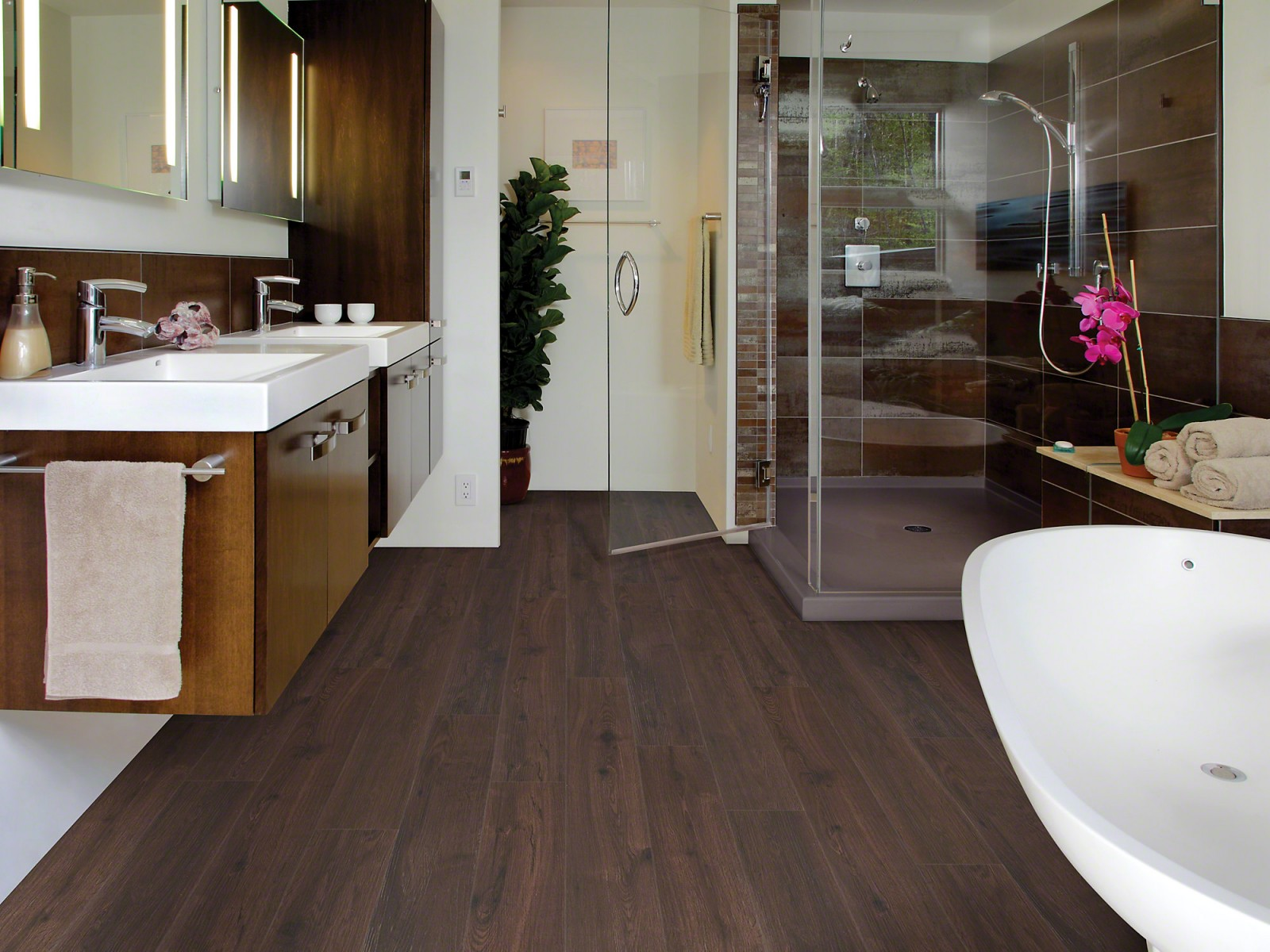 Floorte Vinyl Flooring Collection | Classico Plank, Marrone