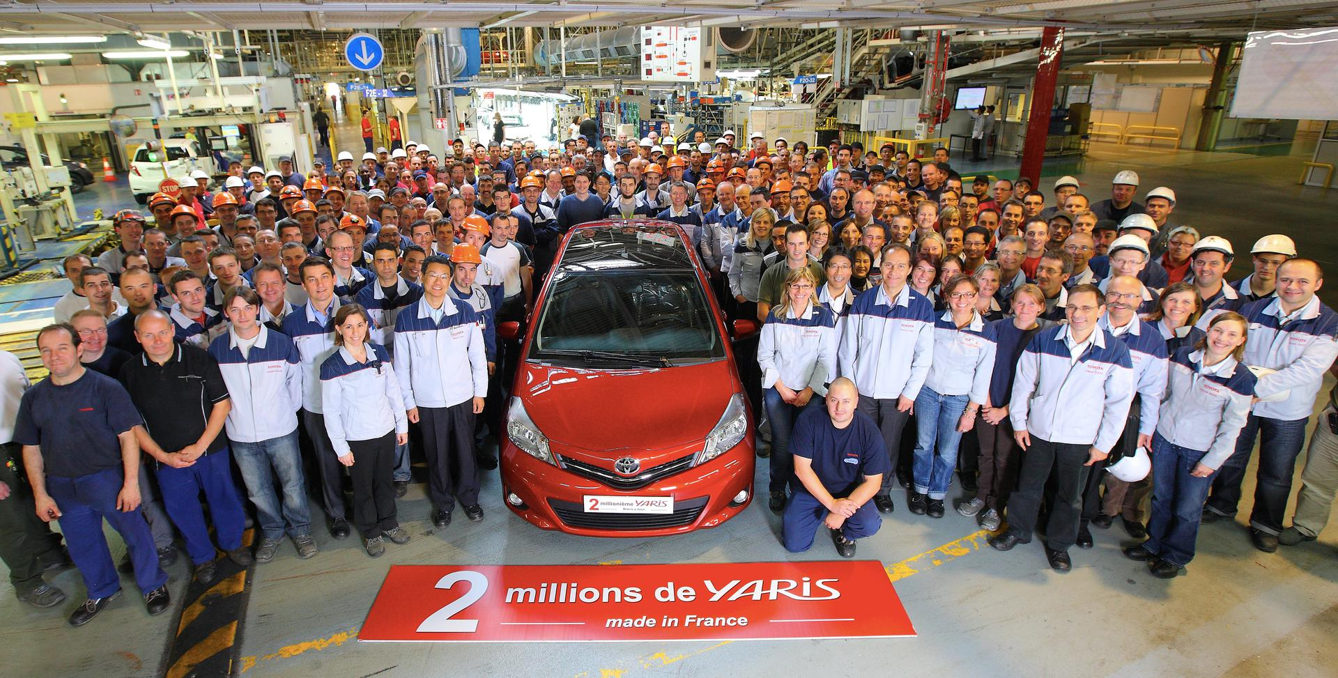 2 Millionth Toyota Yaris Celebrations (credit: Samuel Dhote)