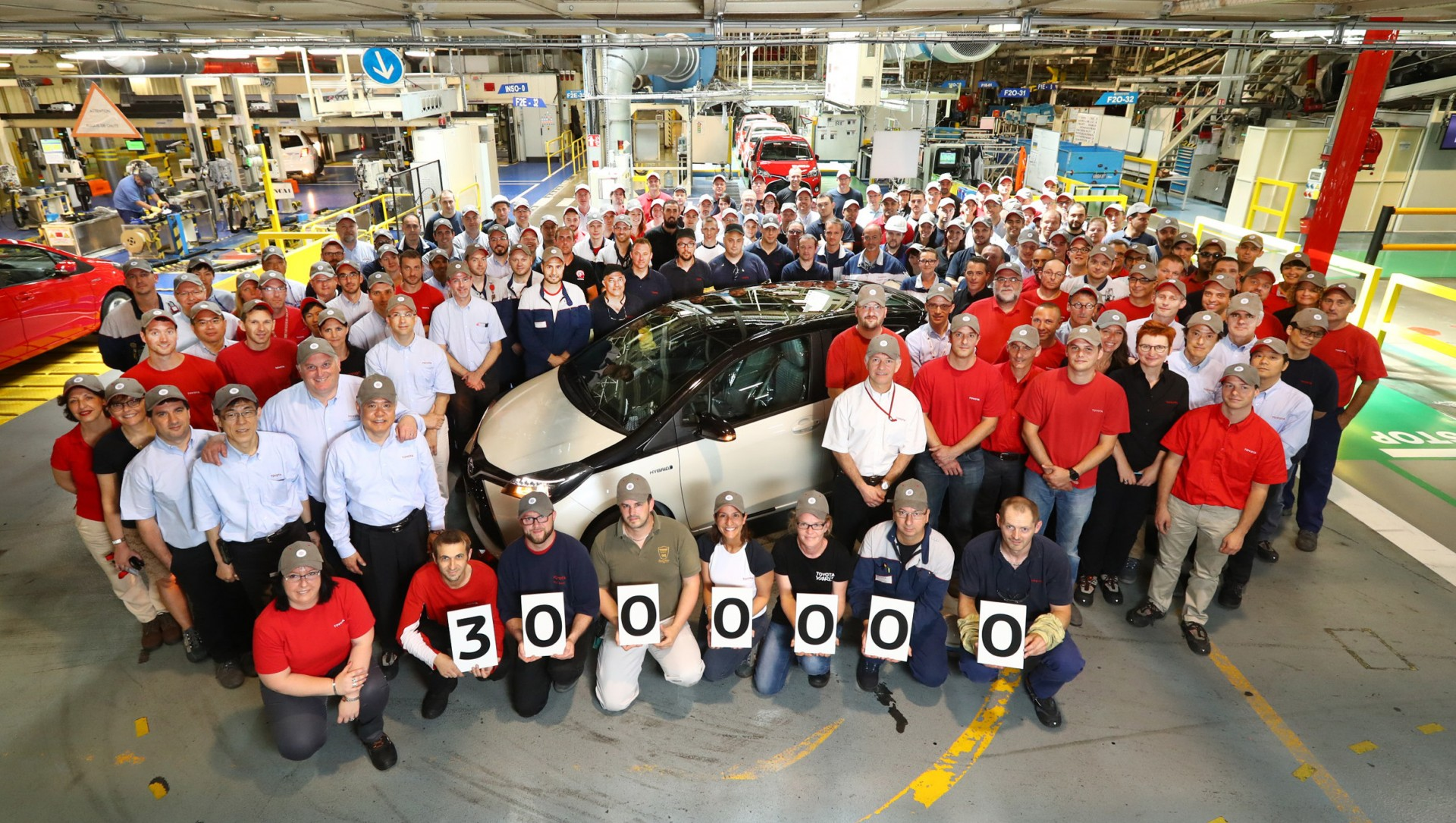 Toyota Yaris at Toyota Motor Manufacturing France